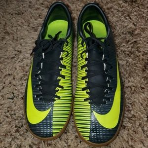 CR7 x Nike indoor soccer shoes